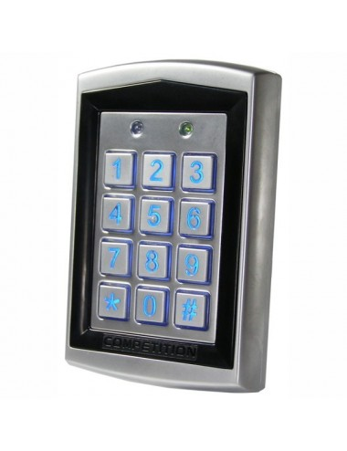 Access keypad with proximity reader