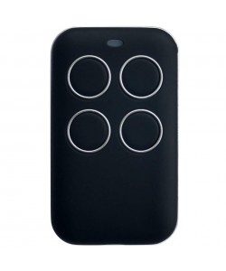 Universal remote with copy function black/silver