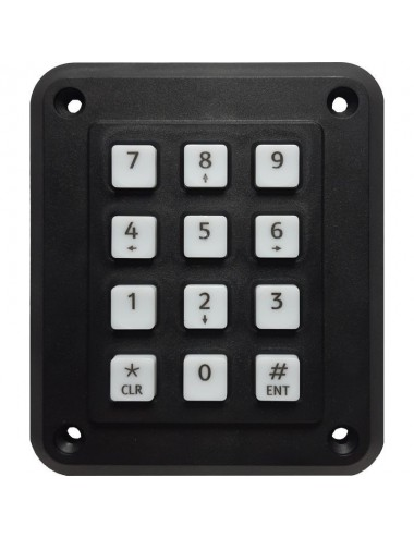 12 button keypad input for reader WIEGAND, Local bus output