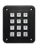12 button keypad with local bus output + input, IP65 waterproof