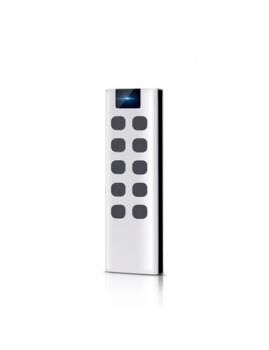 10-button remote control, with wall bracket