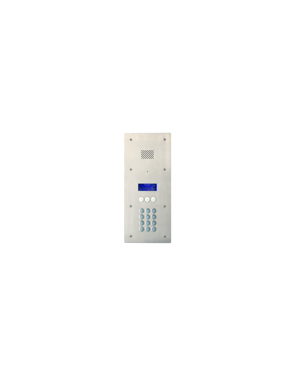 3G Flatphone LCD with access control FLUSH