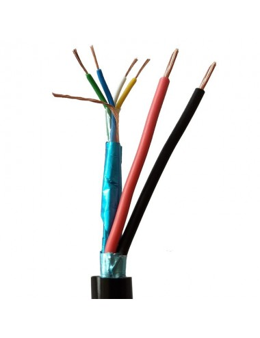 RS485 BUS-kabel, 2 datapar,...