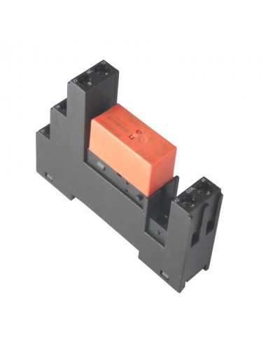 Relay 12V DIN-rail contact...