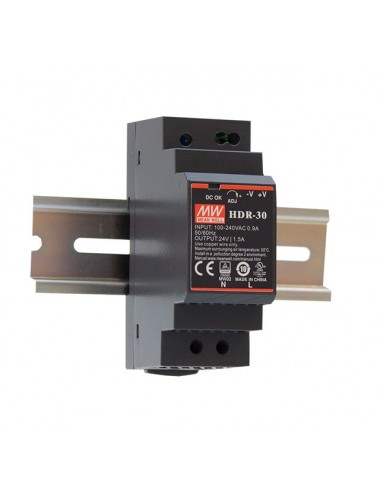 Power supply 5V 3A DIN rail