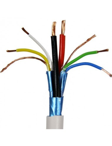 RS485 BUS cable, 2 data sets, white