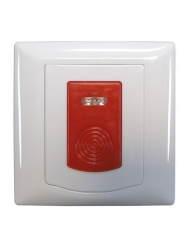 Panic button for mounting on a wall 433Mhz