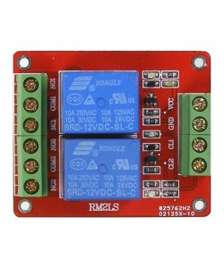 Double relay 12V transistor controlled - 20002222