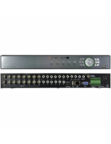 DVR hybrid recorder with 16 channels H960