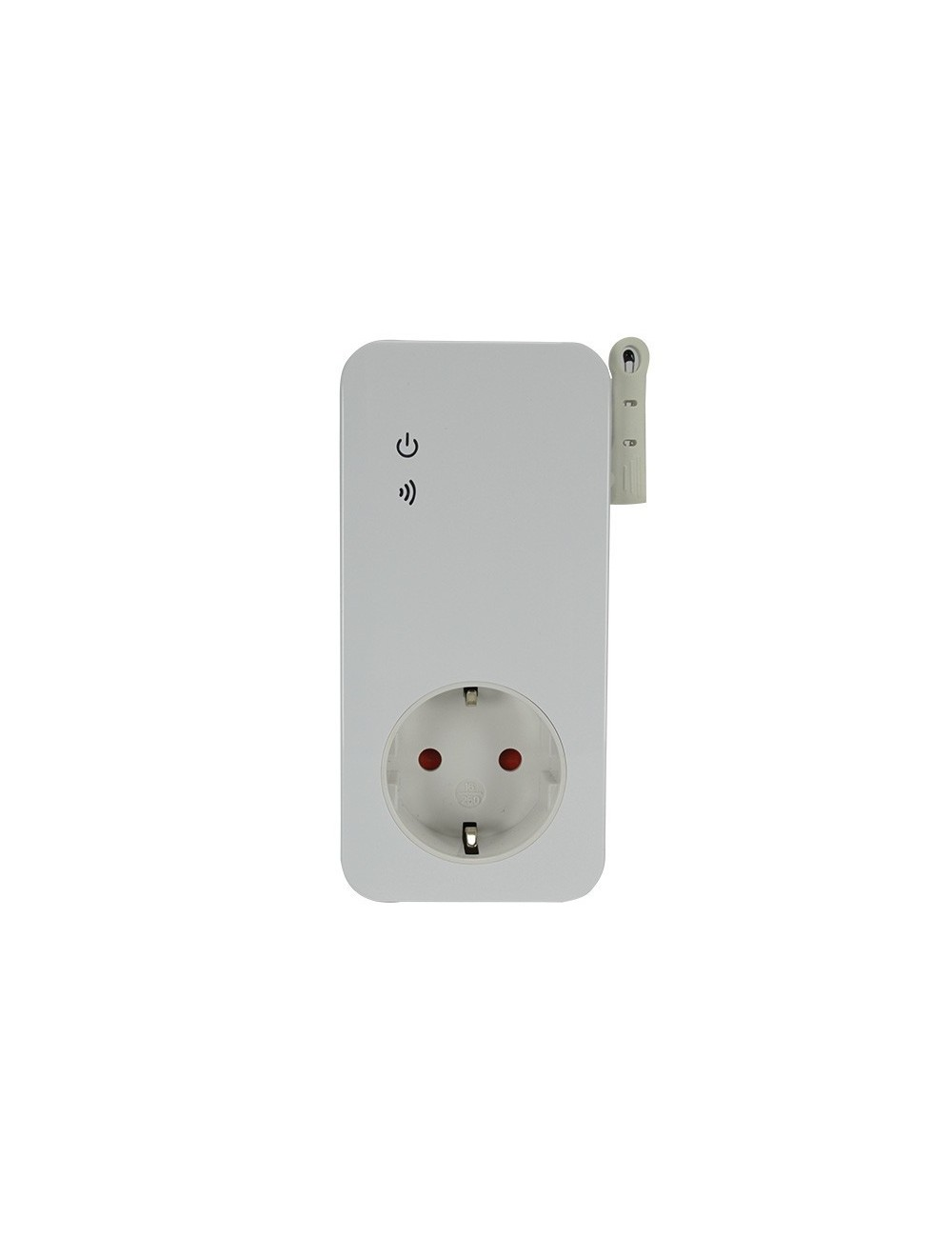 GSM outlet with temperature control