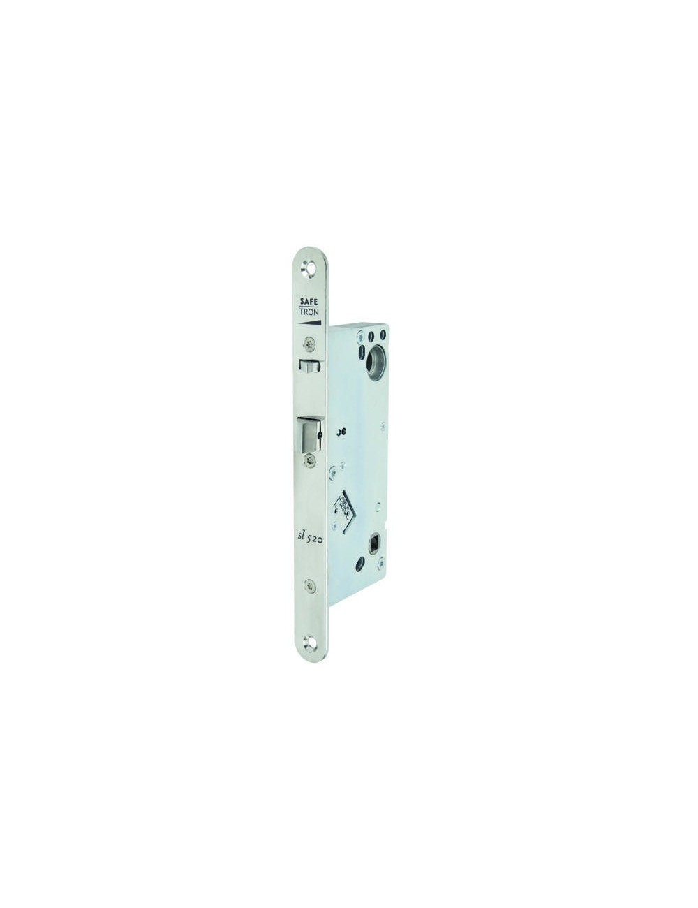 Magnetic lock reversible