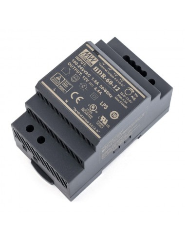 Power supply 12V 4.5A DIN rail